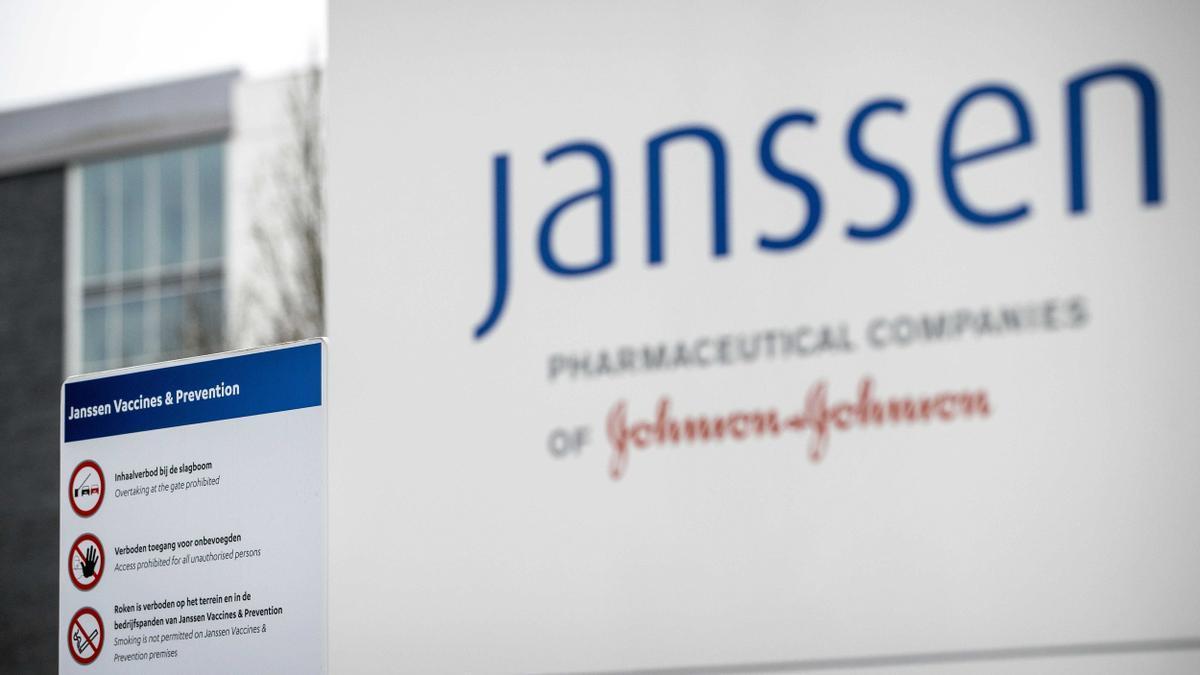 Exterior de la farmacéutica Janssen.