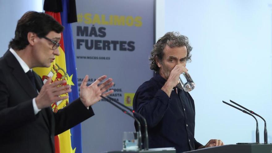 """Simón no dimitirá: """"Ya he trabajado con otros siete ministros"""""""