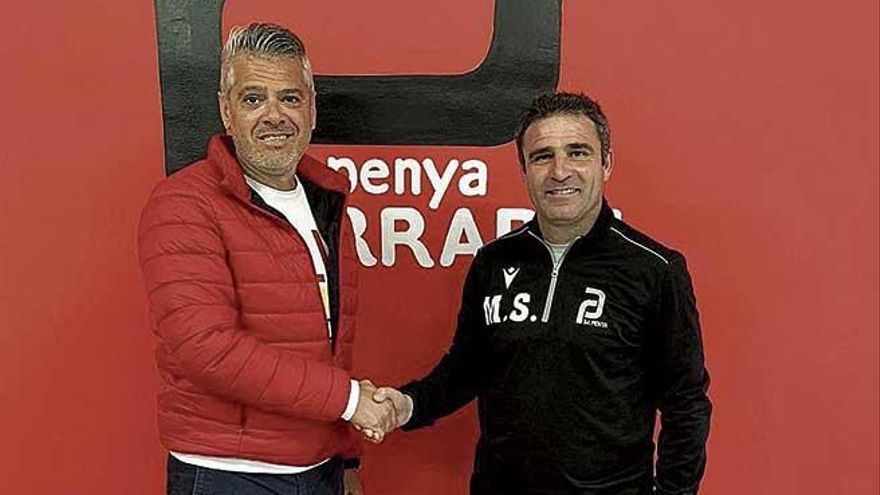 El Penya Arrabal anuncia la renovación del entrenador Miguel Soler