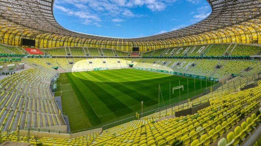 En este estadio jugará el Villarreal la final de la Europa League