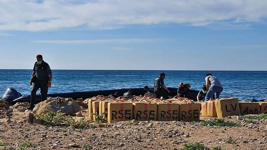 Prisión para los 10 detenidos con 3.900 kilos de hachís en La Vila