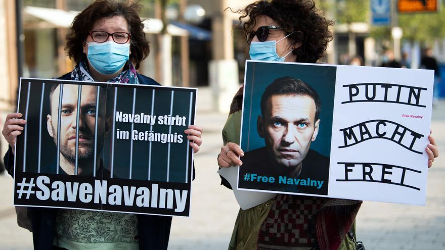 La UE critica la violación de derechos en Rusia tras la detenciones de seguidores de Navalni