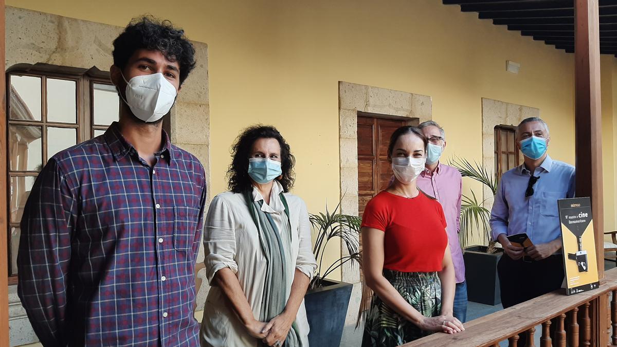 Ibértigo 2020. From left.  right  Pablo Vilas, Elena Acosta, Guacimara Medina, Marcelo Gomes, Jesús García
