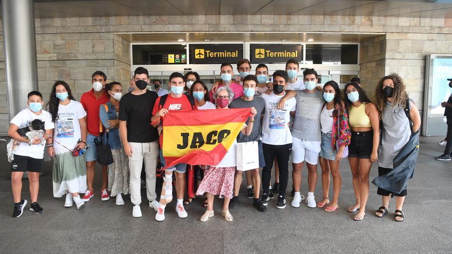 Jacobo Garrido regresa a A Coruña con tres diplomas en los Paralímpicos de Tokio 2020