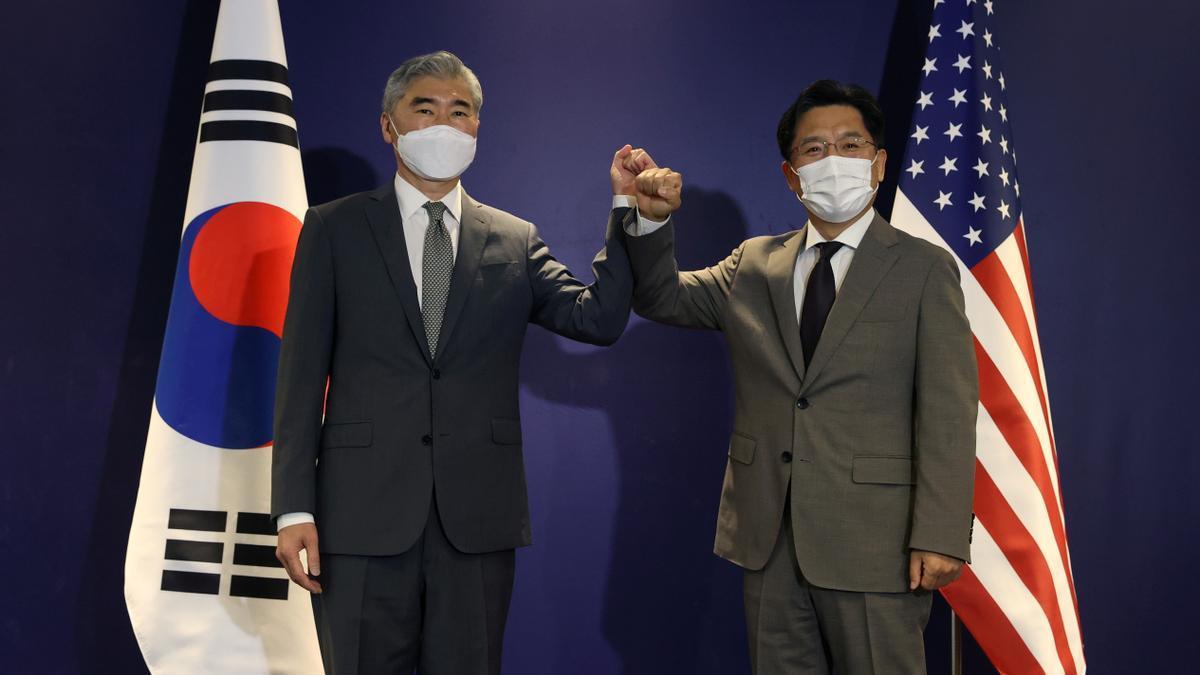 Encuentro entre los representantes de ambas Coreas