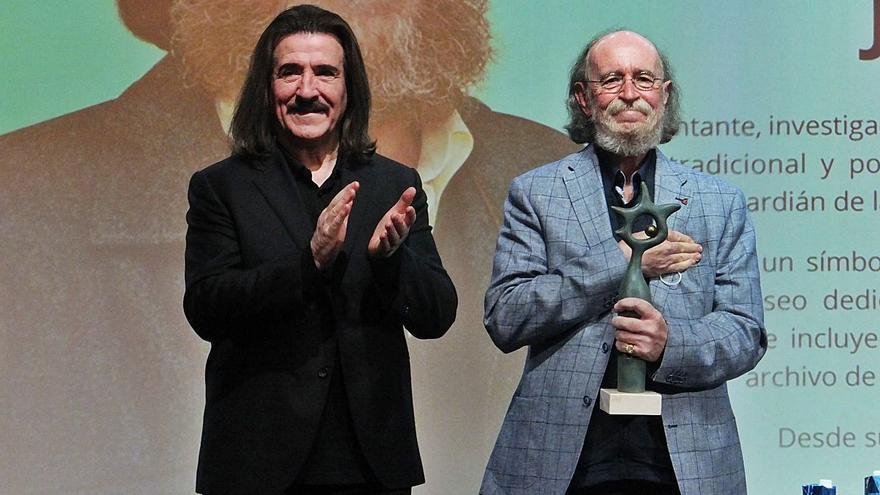 Joaquín Díaz, premio a una vida entre partituras