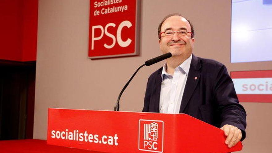 Iceta guanya les primàries del PSC amb el 54% del vots