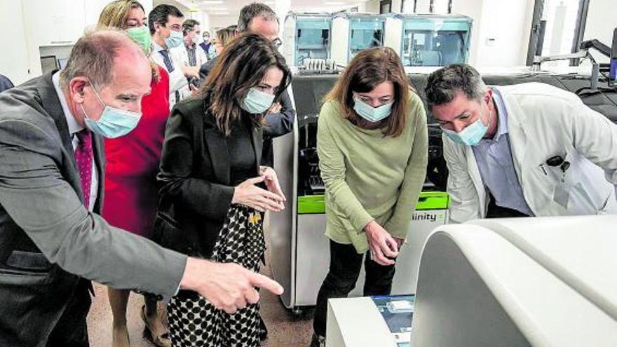 Armengol mantendrá las restricciones hasta tener a los más frágiles inmunizados
