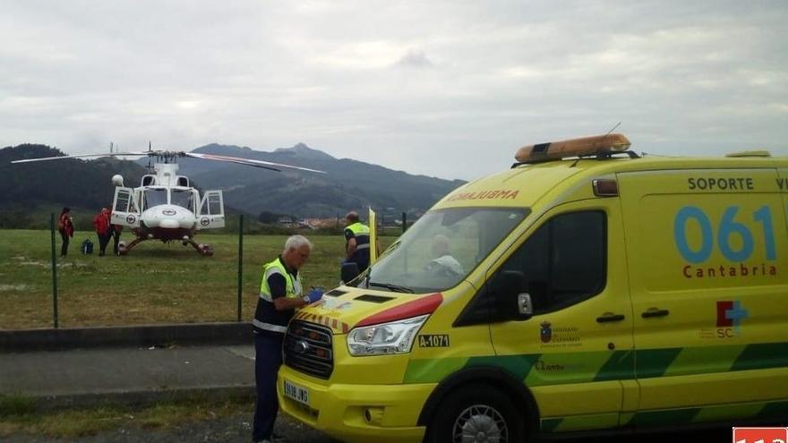 Muere un motorista de 39 años tras sufrir una caída