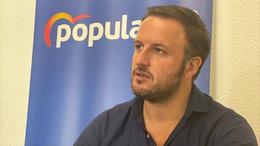 Pablo Ruz, portavoz del PP.
