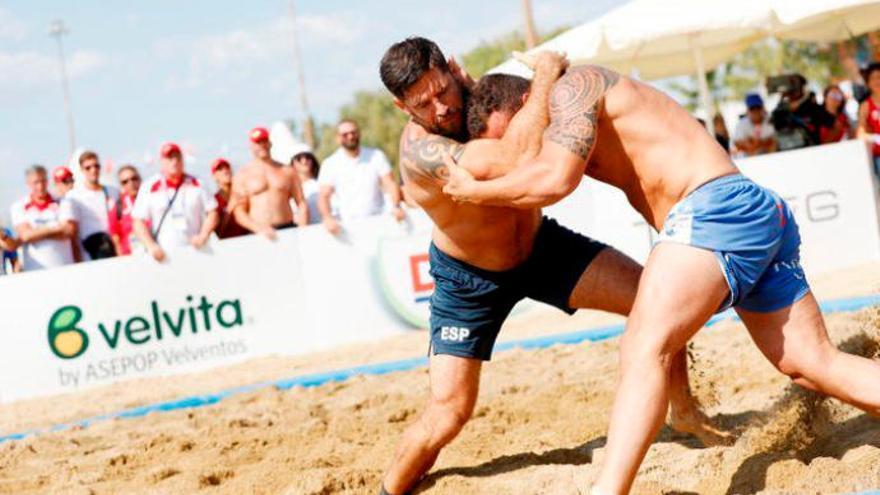 Oro en los Juegos Mediterráneos de Playa para García