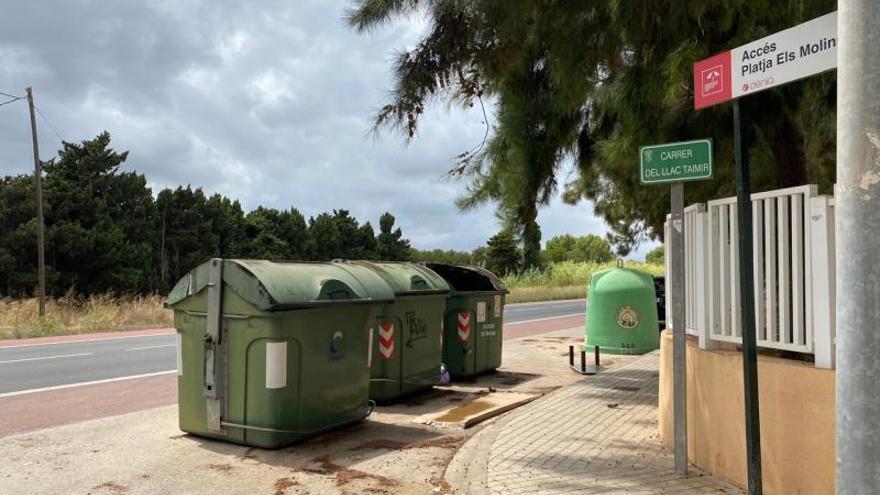 Las dificultades para reciclar en Dénia
