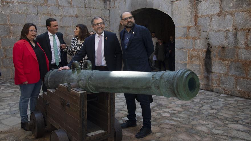 Peñíscola roza el récord histórico con 60.000 visitas al castillo durante agosto