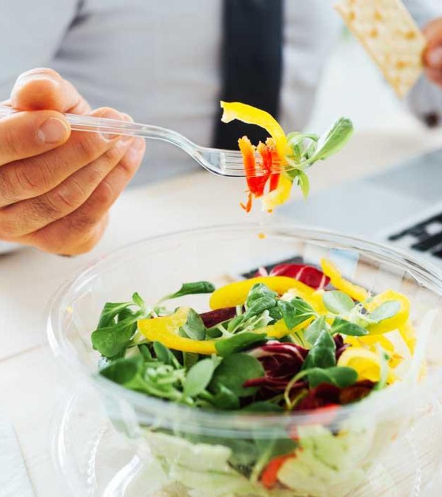 Cinco recetas fáciles y saludables para llevar a la oficina