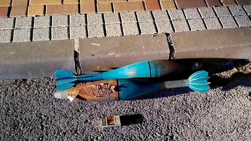 Hallan una granada en el maletero de un coche a desguazar en Alguazas