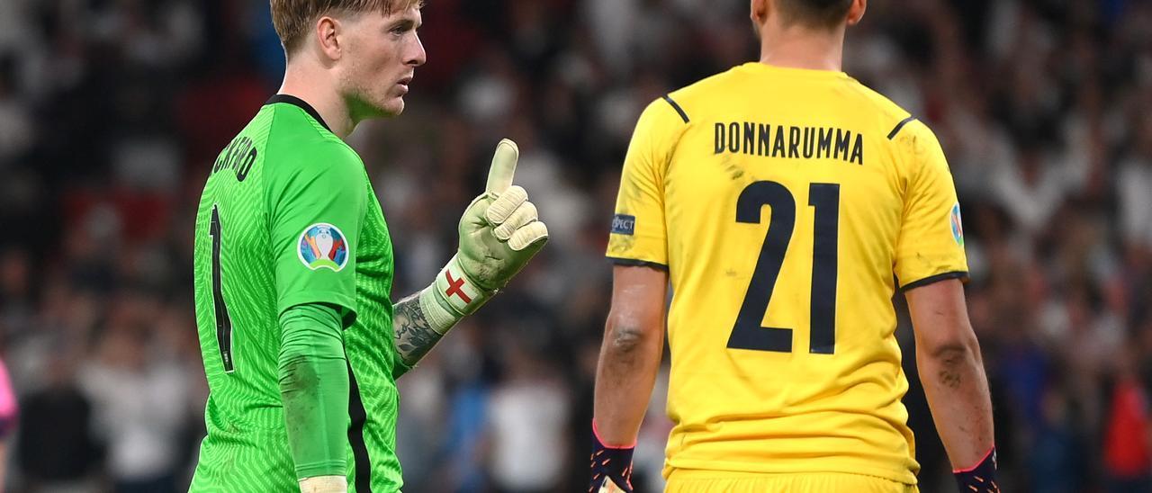 Así fue la tanda de penaltis en la que Italia conquistó la Eurocopa