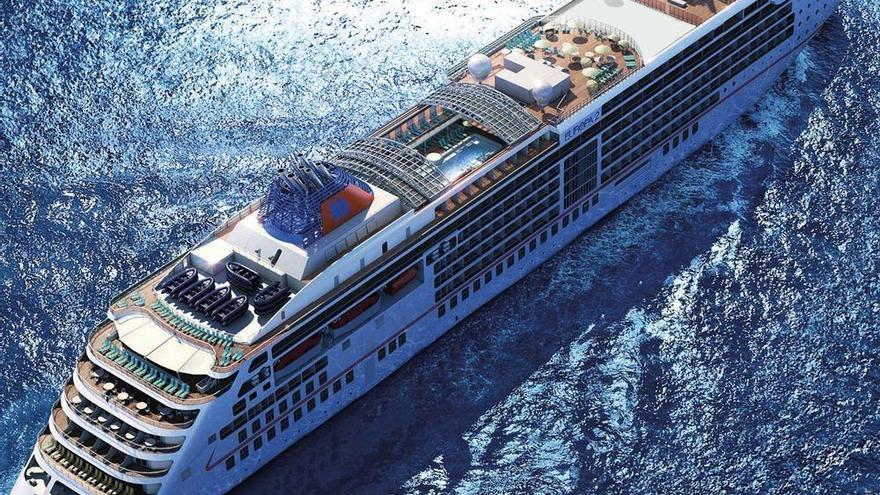El Puerto de Santa Cruz, base para el crucero de lujo 'Europa2'