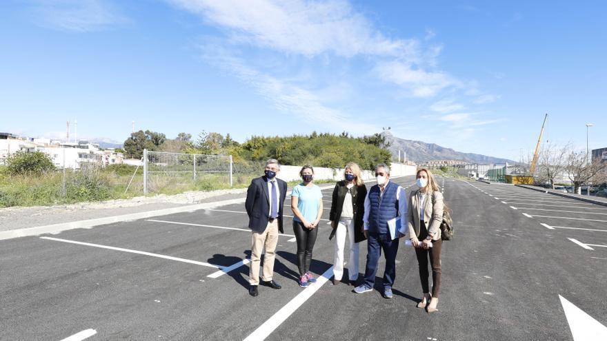 Marbella acondiciona un nuevo aparcamiento en el Polígono Industrial de San Pedro