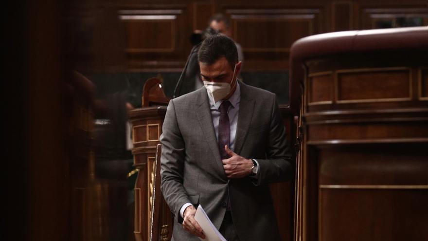 """Sánchez: """"No habrá referéndum salvo que quienes lo defienden convenzan a los 3/5 de esta Cámara"""""""