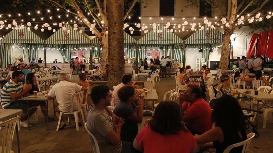 La Velá de la Fuensanta contará (si se celebra) con una docena de atracciones y varios puestos de campanas