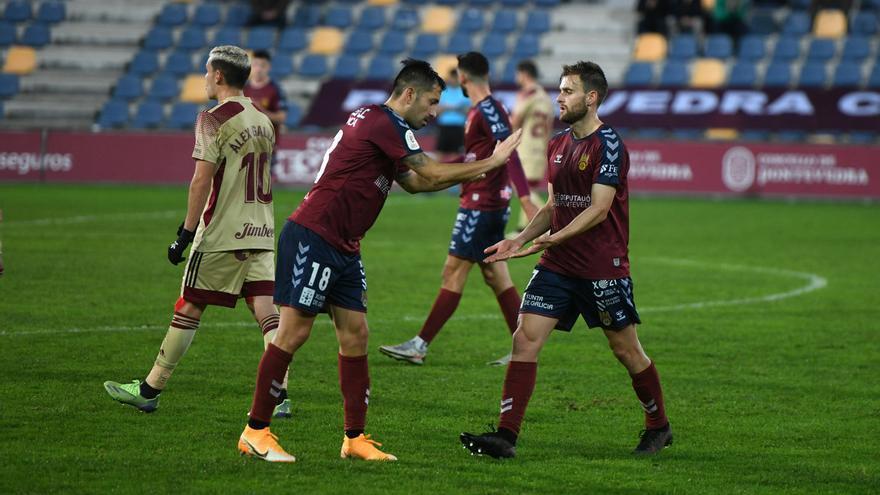 2-1 El Pontevedra brilla en la Copa del Rey y pasa a la siguiente fase