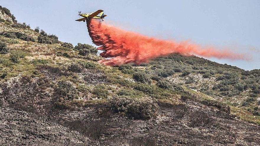 La ola de calor trae temperaturas de hasta 45 grados y riesgo máximo de incendios