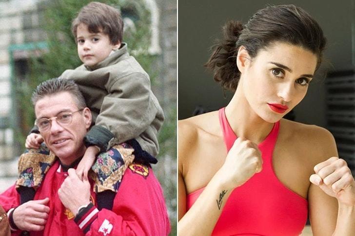 La hija de Jean-Claude Van Damme. Tiene dos hermanos varones que no se atreven a meterse con ella.