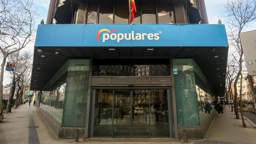 El PP puede lograr hasta 36 millones con la venta de su sede de Génova