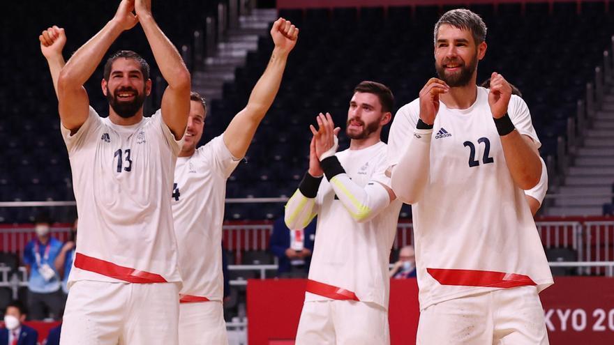 Francia, primer finalista en balonmano tras batir a Egipto