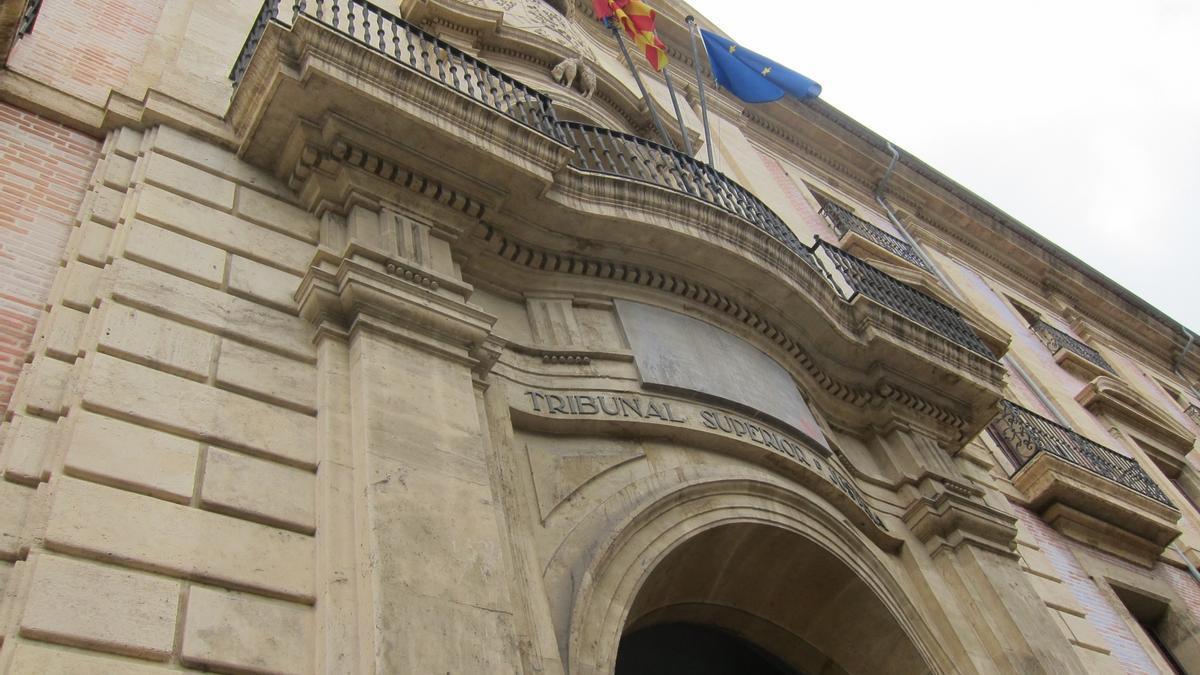 Fachada del Tribunal Superior de Justicia de la C. Valenciana