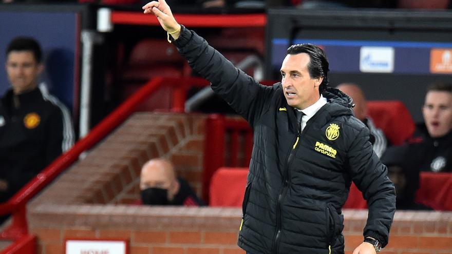 """Emery, tras la derrota del Villarreal en Manchester: """"Si nos olvidamos del resultado podemos estar orgullosos"""""""