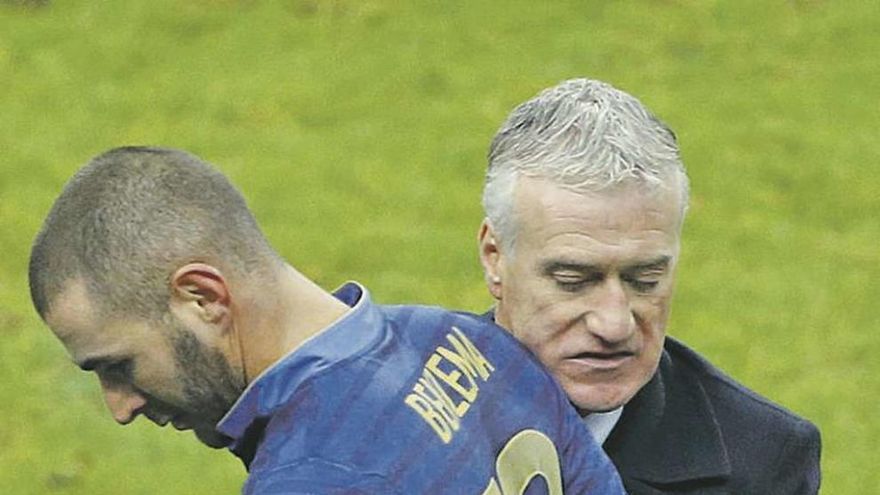 Deschamps vuelve a prescindir de Benzema en la selección
