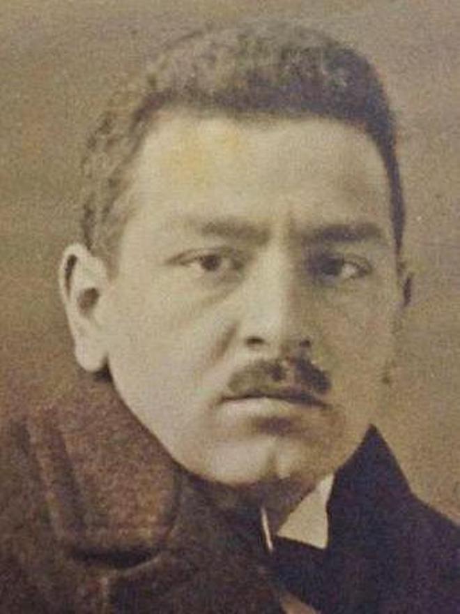 O dramaturgo Álvaro de las Casas (1901-1950).