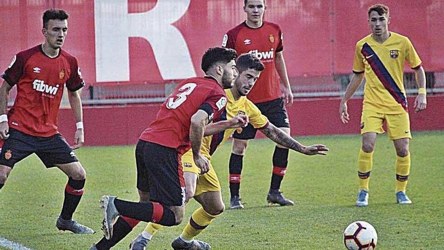 Un flojo Mallorca B pierde ante un Barcelona muy superior