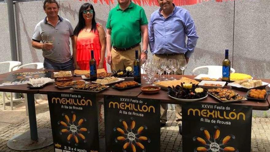 La XVIII Festa do Mexillón sacará músculo con más de 5.000 kilos de bivalvo