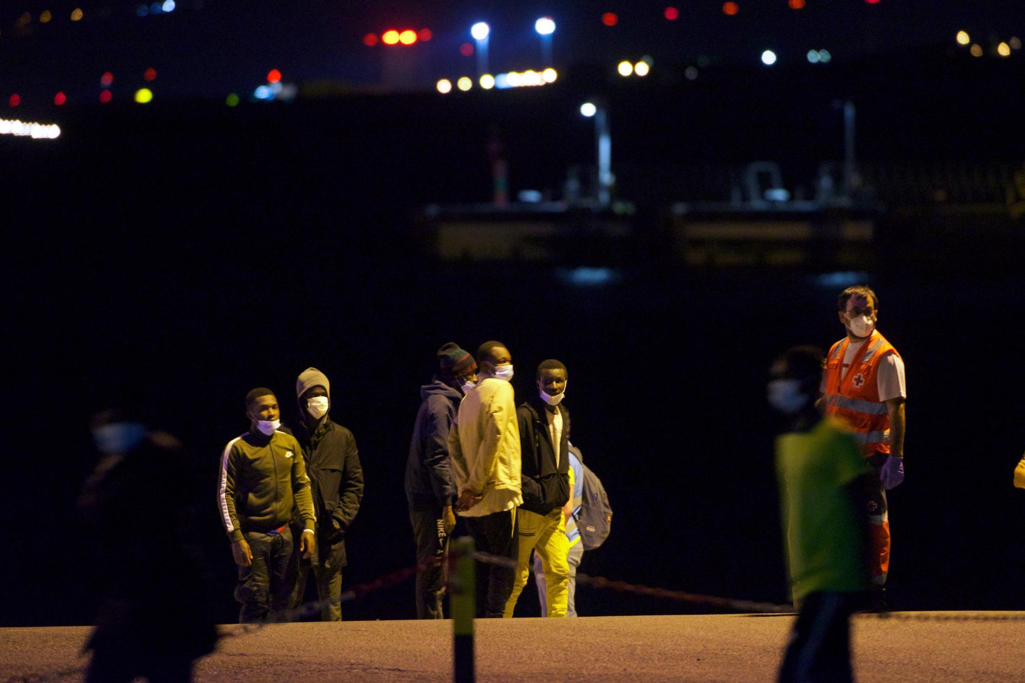 Rescate de migrantes en Fuerteventura (14/04/21)