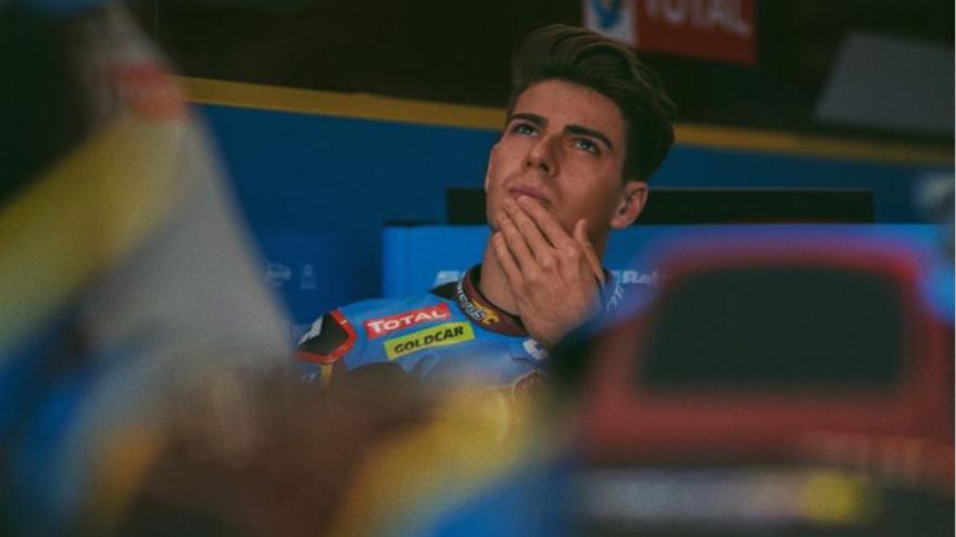 """Augusto Fernández espera """"poder rodar con normalidad a pesar del dolor"""""""