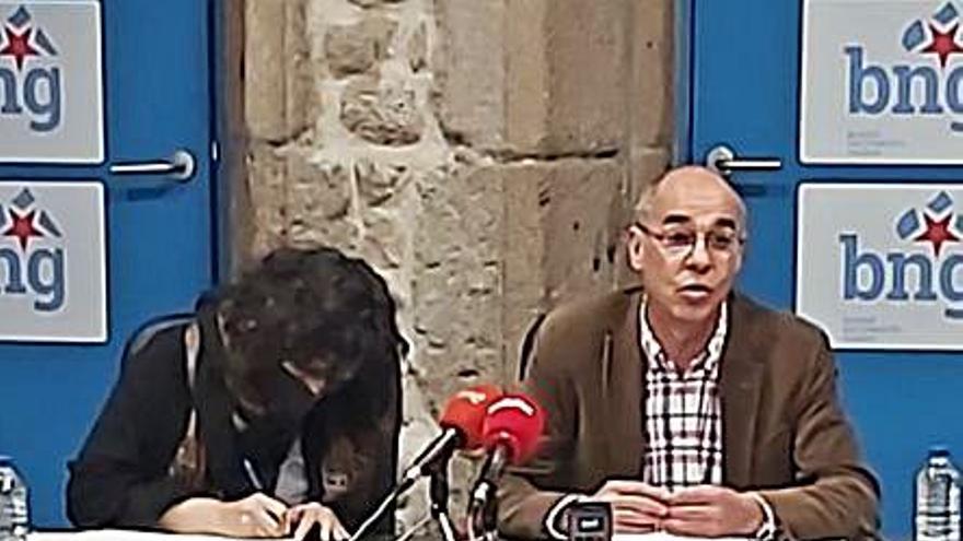 """El BNG critica al Gobierno local no """"haber estado a la altura"""" del COVID y ser inestable"""
