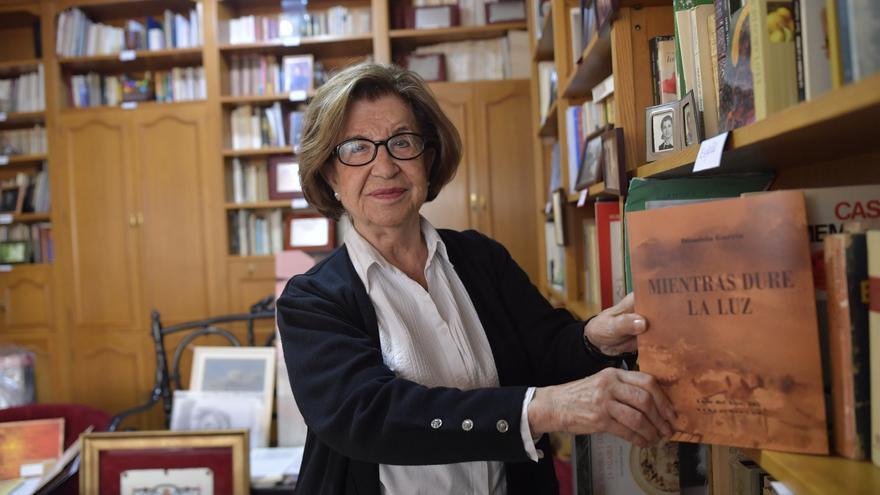 """Dionisia García: """"Se escribe la vida;  si no se vive, no se  puede escribir"""""""
