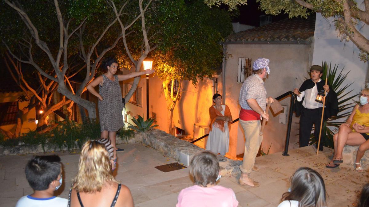Las visitas teatralizadas son una de las actividades más demandadas por los turistas