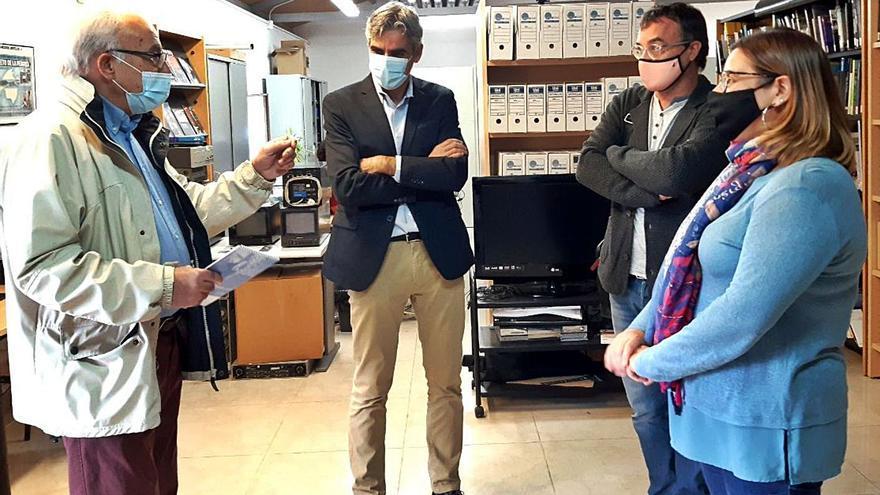 El Arxiu del So i de la Imatge recibe el fondo audiovisual de Tramuntana TV