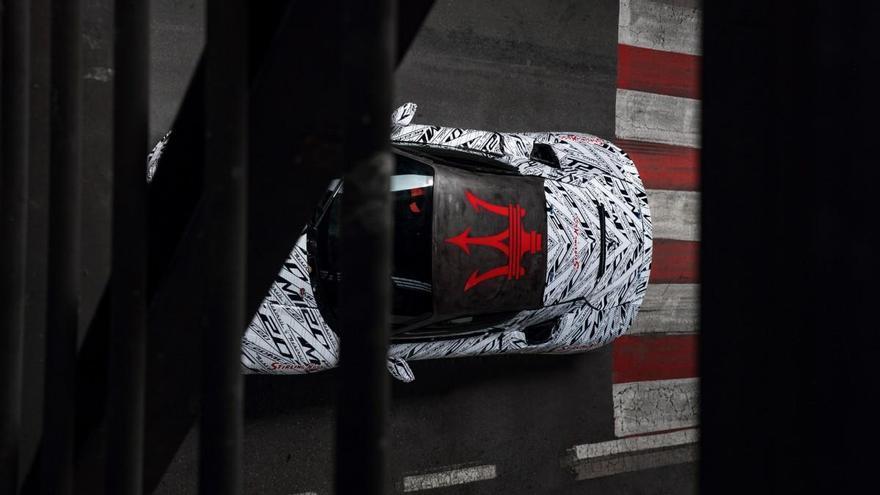 Este prototipo del Maserati MC20 rinde homenaje a Sir Stirling Moss