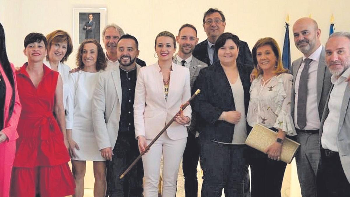 Toma de posesión del equipo de gobierno del Ayuntamiento de la Vall d'Uixó en su segunda legislatura.