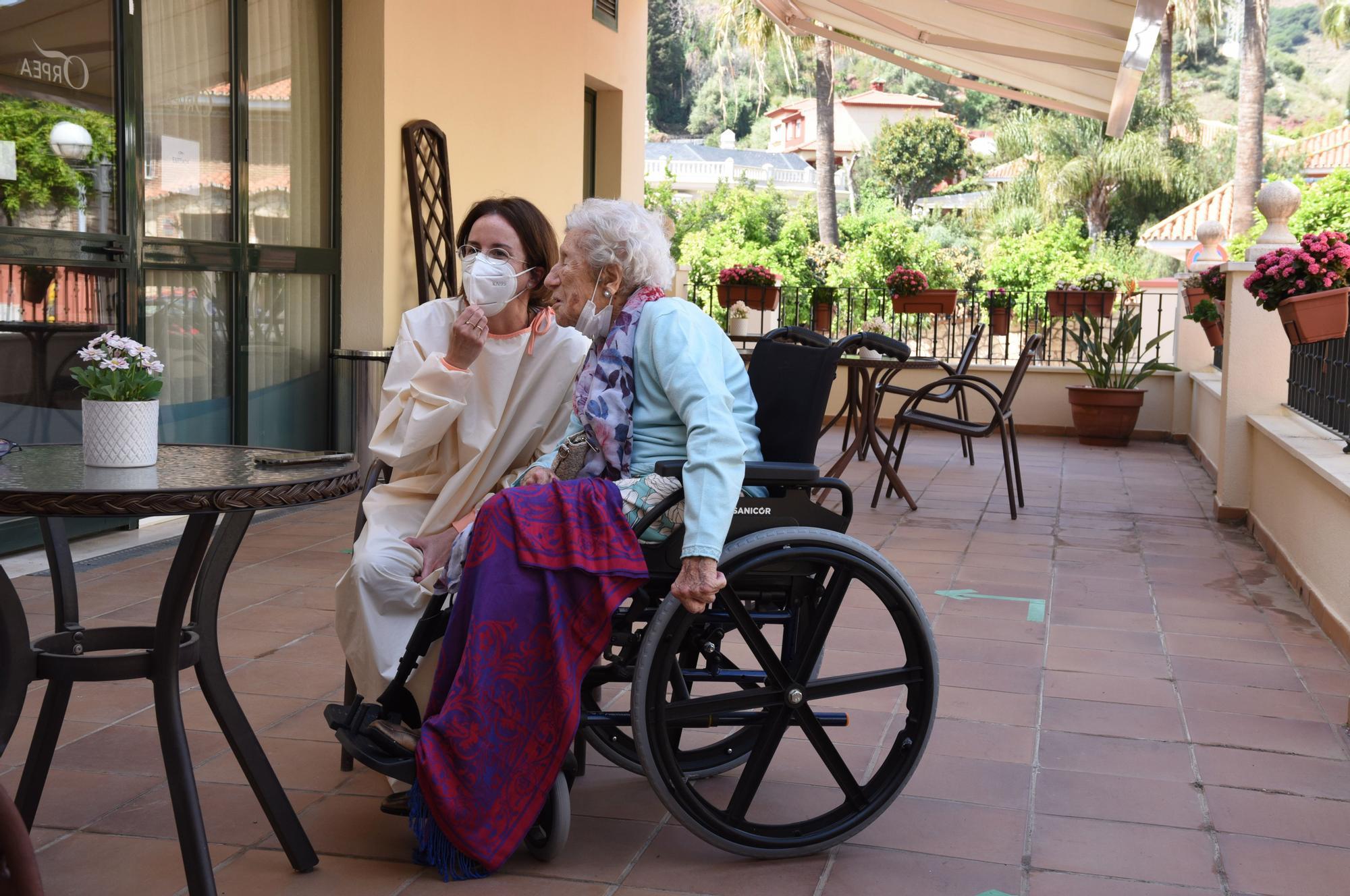 Lola Giménez Reyna celebra su 100º cumpleaños