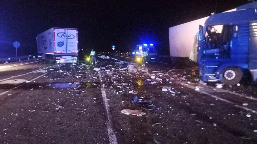 Mieres despide este lunes al camionero asturiano de 46 años que falleció en un accidente múltiple en Huesca