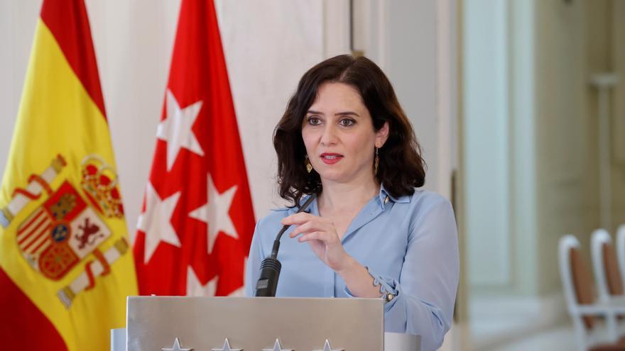 """Isabel Díaz Ayuso """"Que los ciudadanos elijan entre socialismo o libertad"""""""