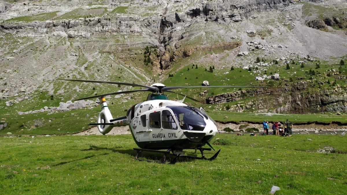 Fallece un montañero francés de 68 años en el Pico del Águila en Canfranc