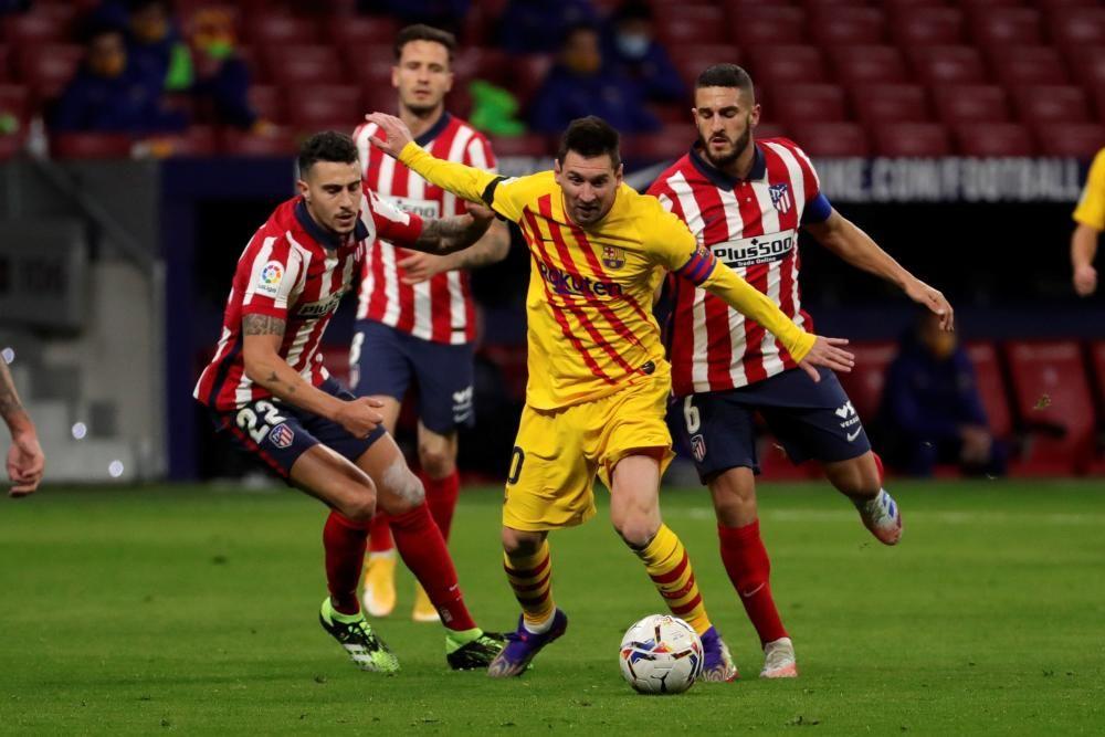 Las imágenes de Atlético de Madrid - FC Barcelona.