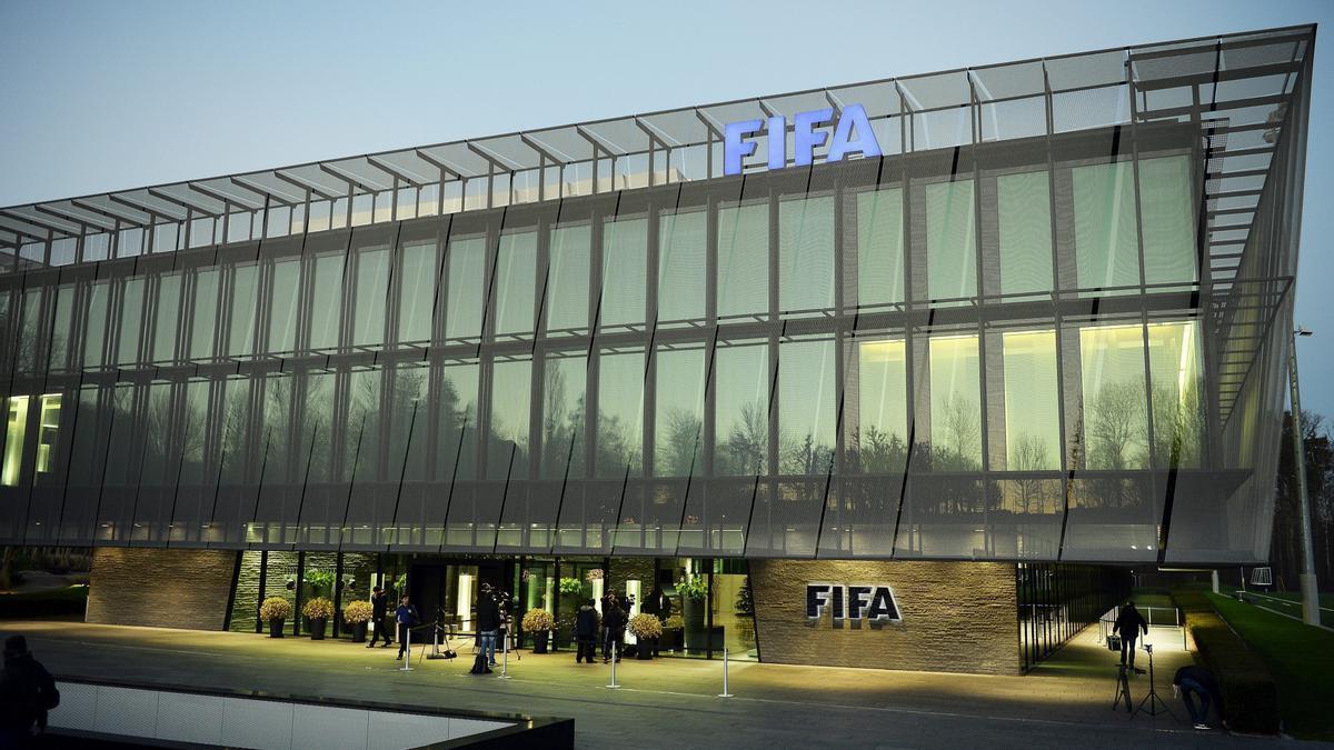 Sede de la FIFA.