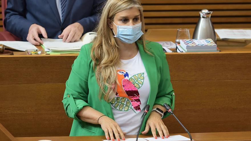 El PP pide la comparecencia en las Cortes de Ana Barceló ante el aumento de contagios